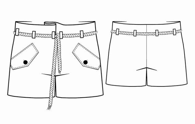 шорты женские выкройка
