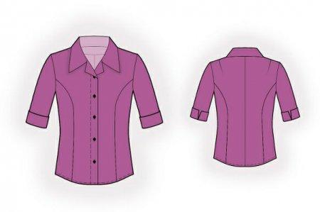 Выкройка - блузка