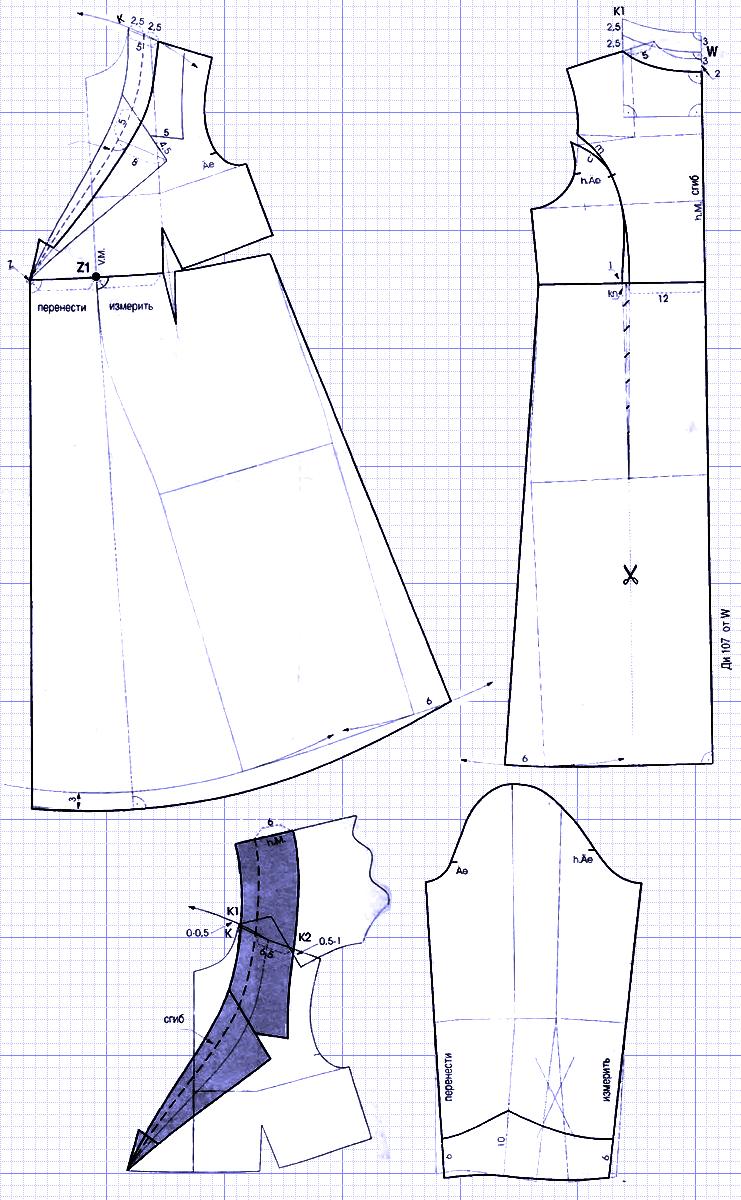Как сшить халат выкройки