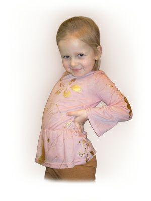 Скачать выкройку трикотажной блузки