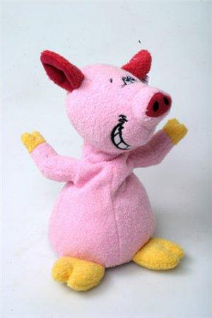 Выкройка детской игрушки - Свинья