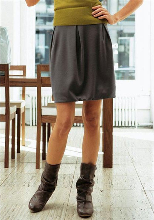Юбка с жилетом для девочки выкройка