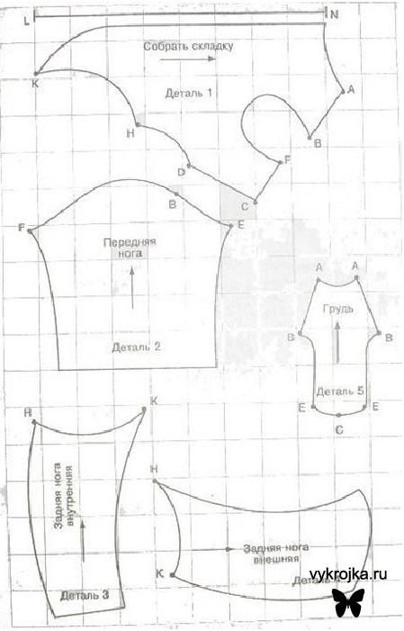 Схемы вязания беретов спицами