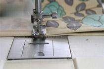 Швейная машина. Работа и устройство