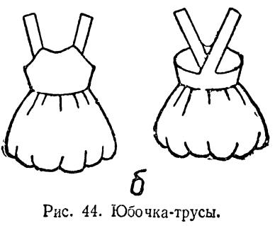 Шьем юбка-трусы. Выкройка детской юбки-трусов