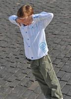 Детская верхняя рубашка для мальчика