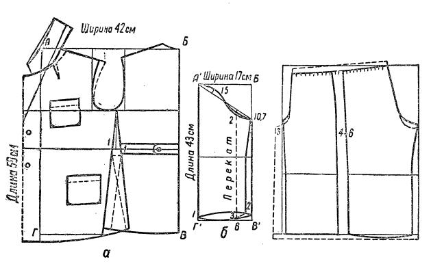 выкройка женской пижамы 50 размера подряда между