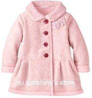 Детское демисезонное пальто свободного покроя. Выкройка