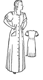 Выкройка платья для полных и для сутулых