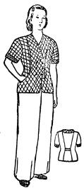 Выкройка женской пижамы. Шьем пижаму своими руками