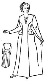 Выкройка вечернего женского платья. Шьем вечернее платье
