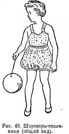 выкройка шаровар брюк для детей - Выкройки одежды для детей и взрослых