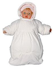 Выкройка тёплого конверта для новорожденного фото 962