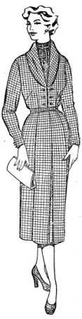 Женское платье. Выкройка основа платья