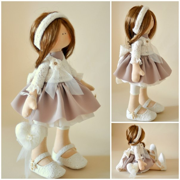 Шьем куклу-большеножку