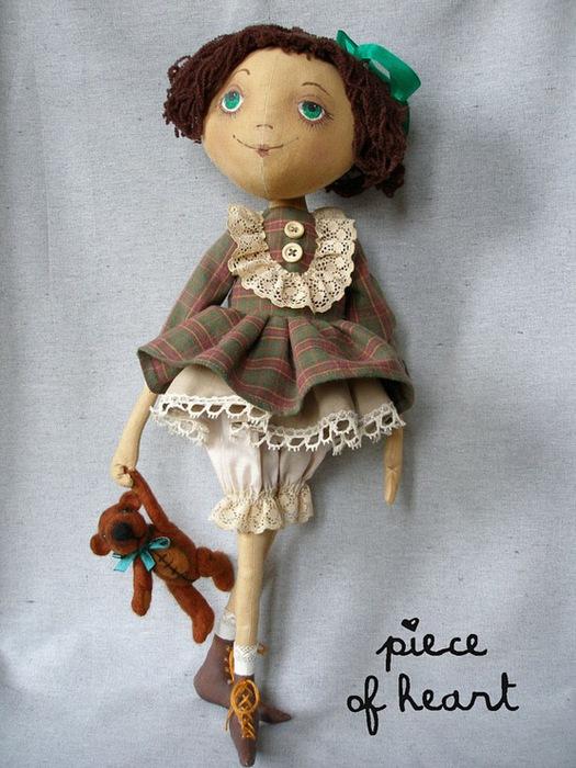 Сшить куклу тыквоголовку мастер класс