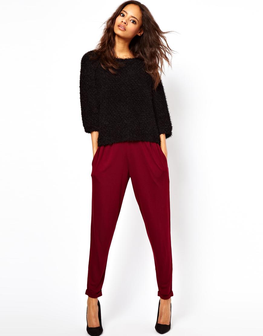Готовая выкройка женских брюк в трёх размерах От 78-82-86 см | 1110x870